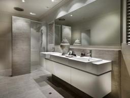 Bathroom for Webb & Brown Neaves 'Leftbank' Display Home in Duddley Park